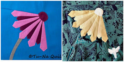 Anne's Flower, Tu-Na Quilts, Dresden Plate block, Puppilalla, modern quilting, Blog Hop, Sirrus Solids, cloud 9 fabrics