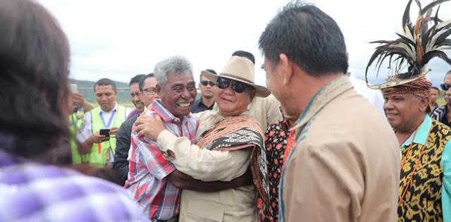 Mantan Pejuang Integrasi Timor-Timur Berharap Prabowo Jadi Presiden