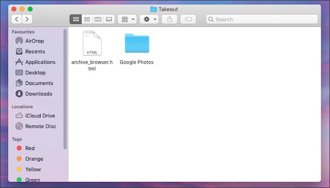 قم بتنزيل نسخة احتياطية لمكتبة صور Google