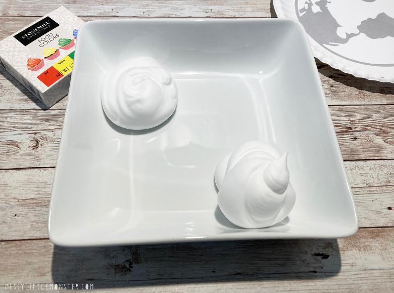 How to make shaving cream paint