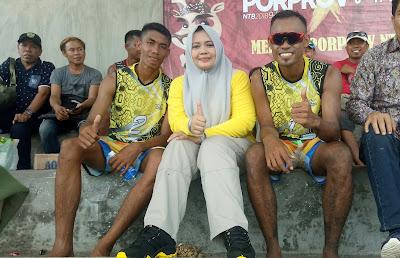 Tim Voli Pasir Kabupaten Bima Berhasil  Menjuarai Pull A