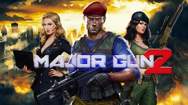 تحميل لعبة Major GUN v3.7 مهكرة كاملة للاندرويد