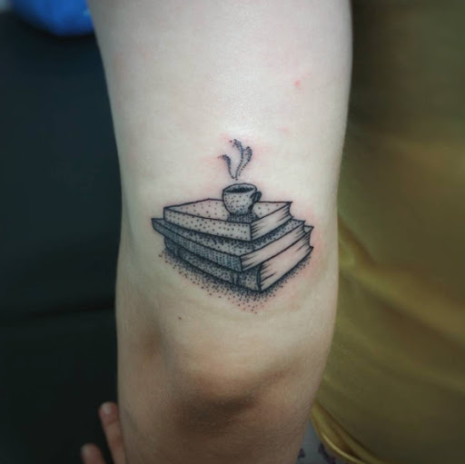 Este dotwork livro de desenho de tatuagem