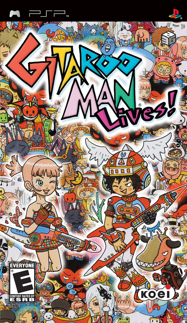 Gitaroo Man Lives! - PSP - ISO Download
