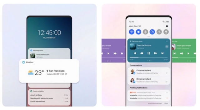 This is what One UI 3.0 looks like