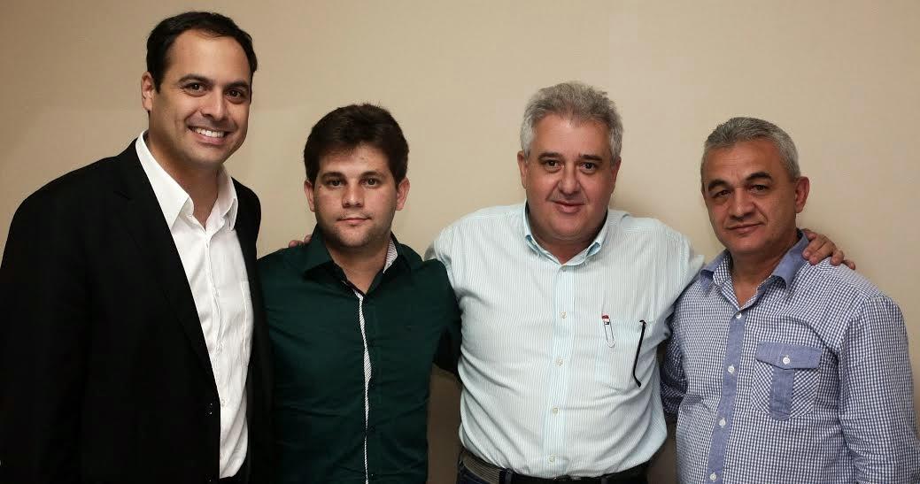 Vereador Gersinho, de Garanhuns, garante apoio a Paulo Câmara