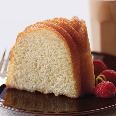 Lemon-Vanilla Pound Cake