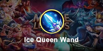Build nana Ice Queen Wand