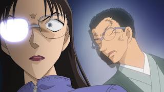 名探偵コナン | 若狭留美 Wakasa Rumi  | 第1011話 山菜狩りとクローバー | Detective Conan Episode 1011