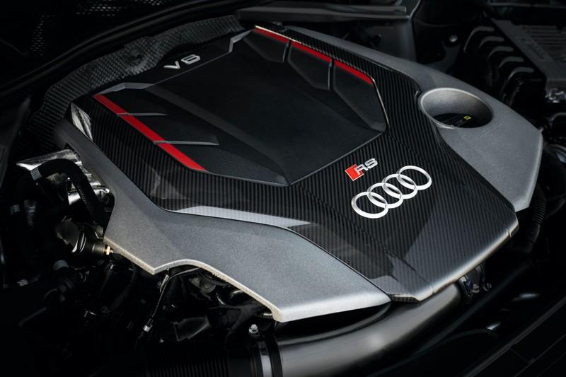 Hình ảnh chi tiết của Audi RS5 Coupe và RS5 Sportback 2020
