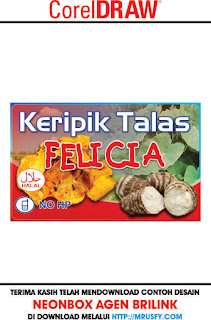 DOWNLOAD STICKER KERIPIK TALAS