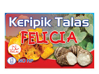 DOWNLOAD STICKER KERIPIK TALAS CDR