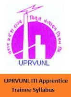 UPRVUNL ITI Apprentice Trainee Syllabus