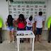 En Curumaní - Cesar: capturados tres mujeres y un hombre con base de coca y marihuana