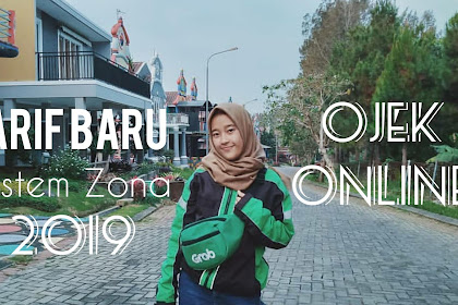Tarif Baru Ojek Online Sistem Zona 2019