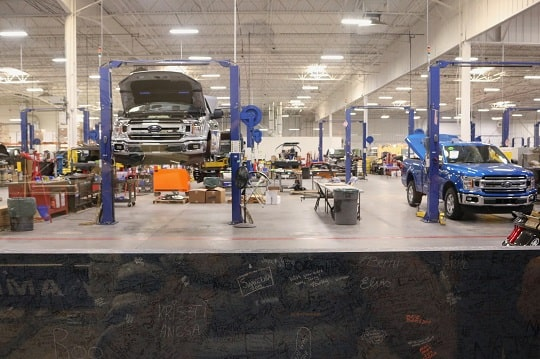 offering customer financing auto repair shop
