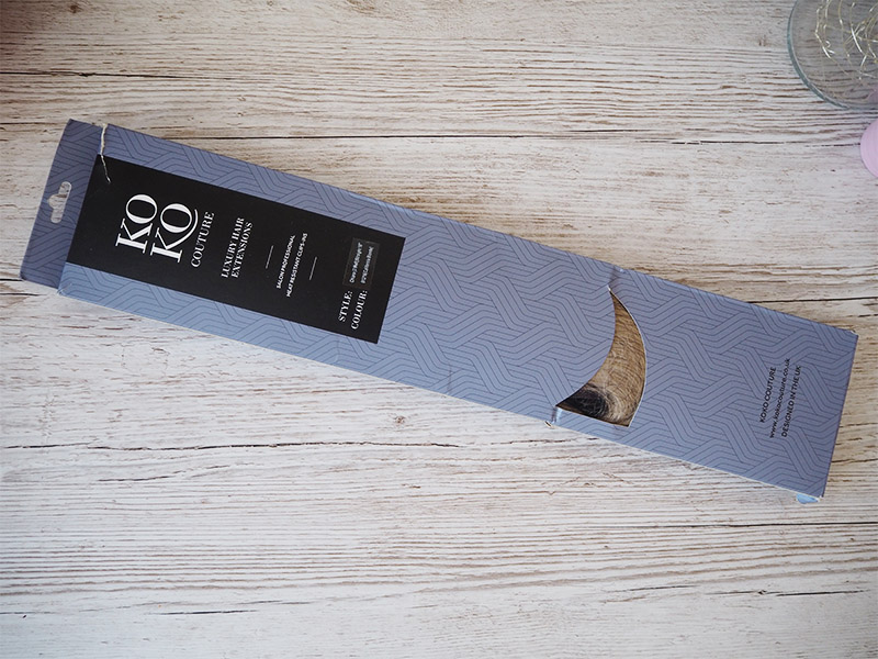 KOKO Couture hair  extensions chiara 3 weft