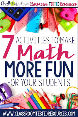 7 highly engaging activities to make math more fun for upper elementary students