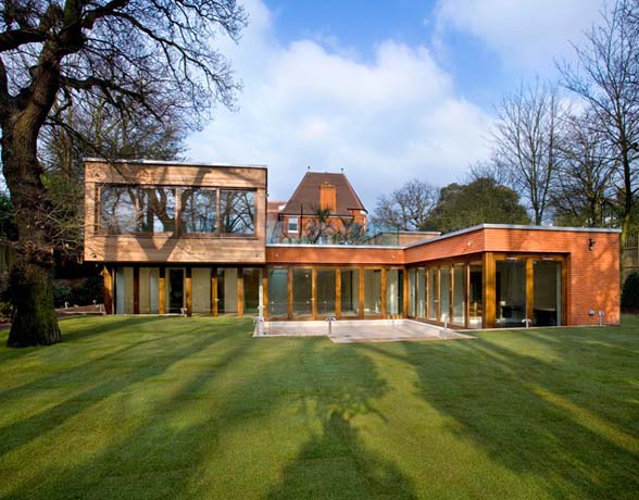 bedroom design blog: Modern Glass House Harrison SAFE on Modern Glass House  id=36679