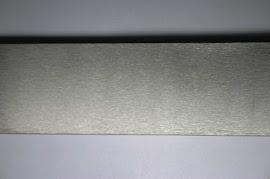 abrasive brush surface finishing on flat metal bar
