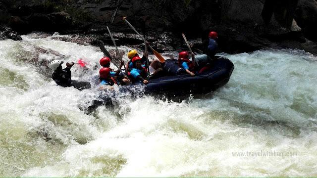 White Water Rafting di Kuala Kubu Bharu