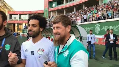 Ramazan Kazyrov and Mohamed Salah in World Cup