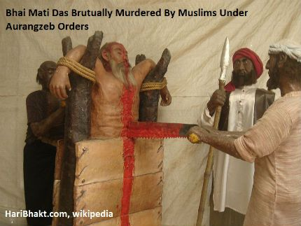 Mughal Barbarism and Islamic Savagery in India - Sikhs Killed