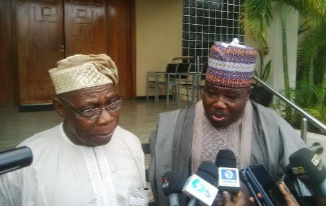 Obasanjo to Modu Sheriff: PDP is dying, it needs to be in intensive care