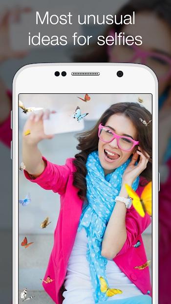 Photo Lab PRO APK Selfie'ler için en sıra dışı fikirler