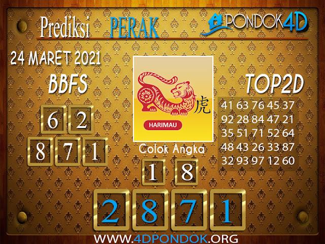 Prediksi Togel PERAK PONDOK4D 24 MARET 2021