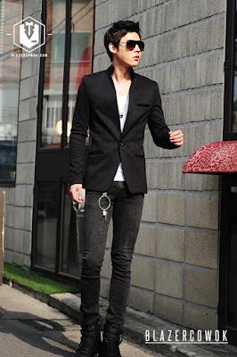blazer cowok blazercowok.com jaket korean jas pria bk02 d