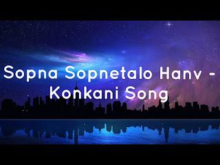 Sopnam Sopnetalim Hanv - Konkani Wedding Song by: Mark Revlon