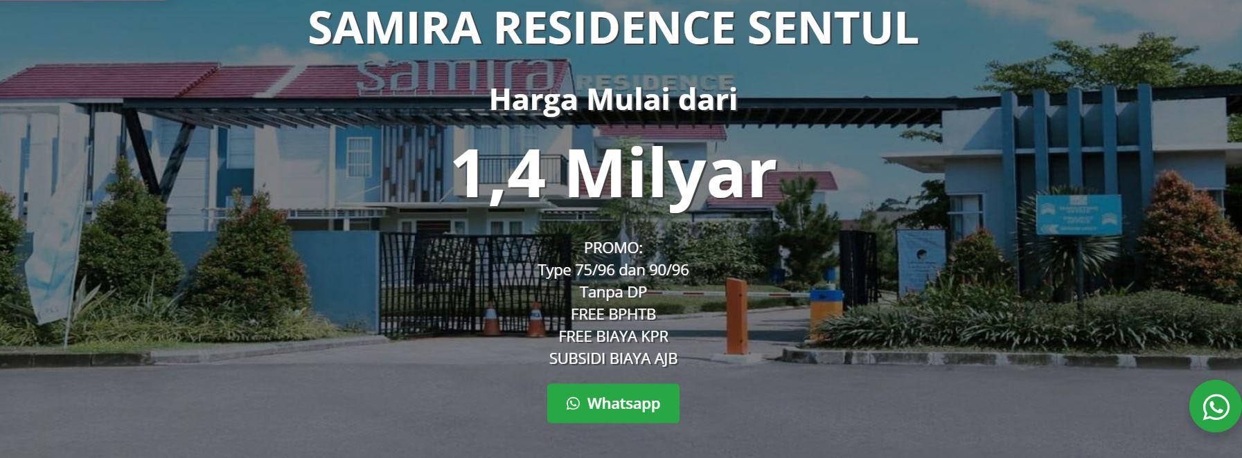 promo samira residence