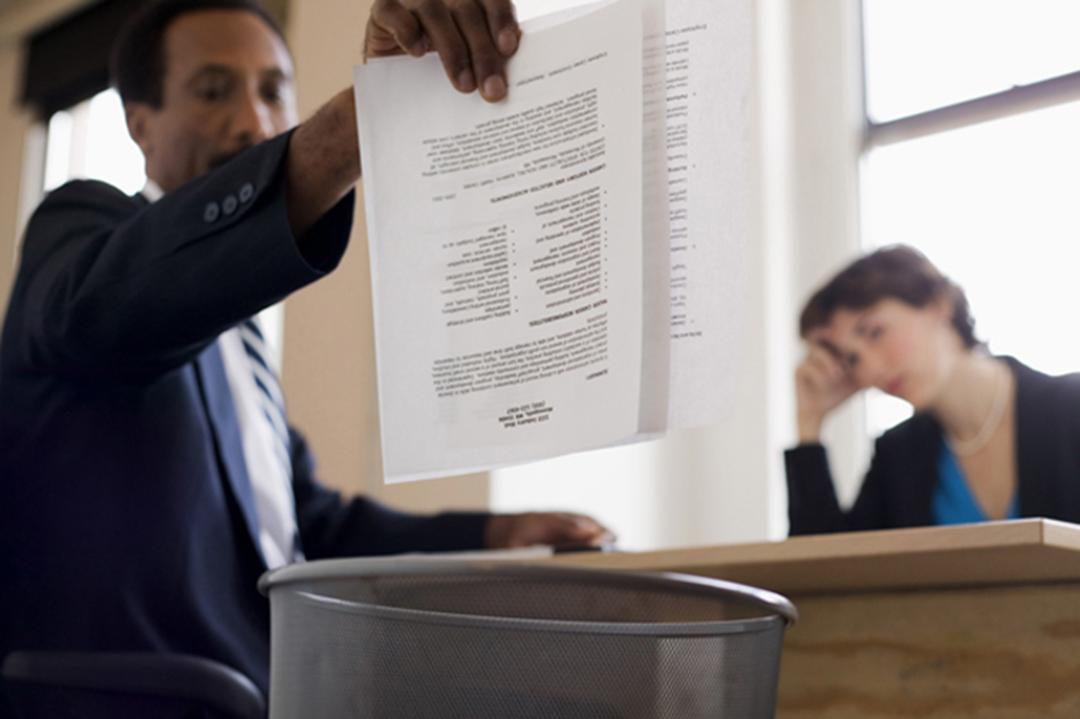 Maklumat dalam resume tidak tepat