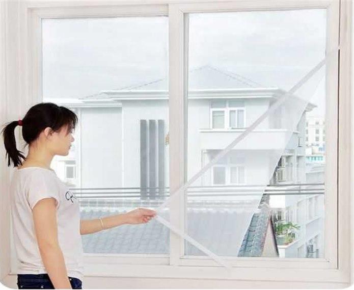 Pencere ve Balkon Kapısına Sineklik Takın