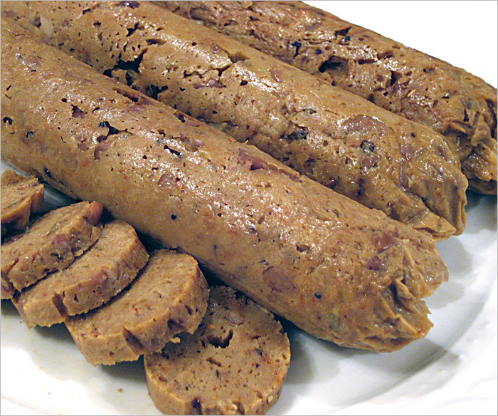 Veggie Alternatives At Brat Fest >> Andrea S Easy Vegan Cooking Vegan Sausage