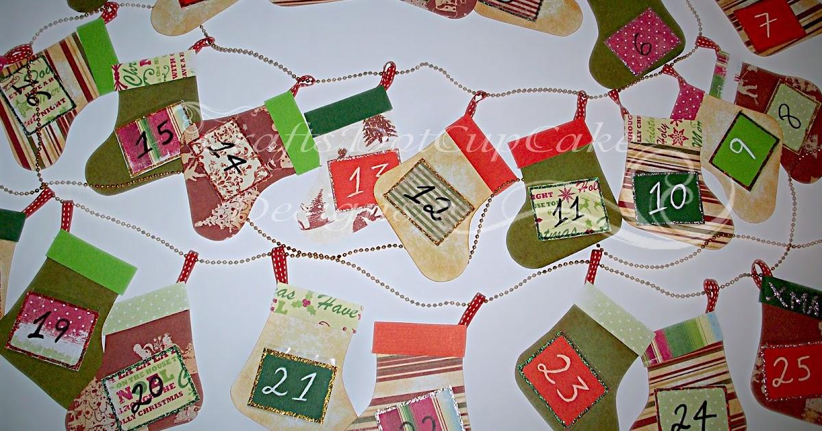 craftsdotcupcake christmas stocking advent calendar. Black Bedroom Furniture Sets. Home Design Ideas