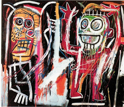 Jean-Michel Basquiat - Dust heads