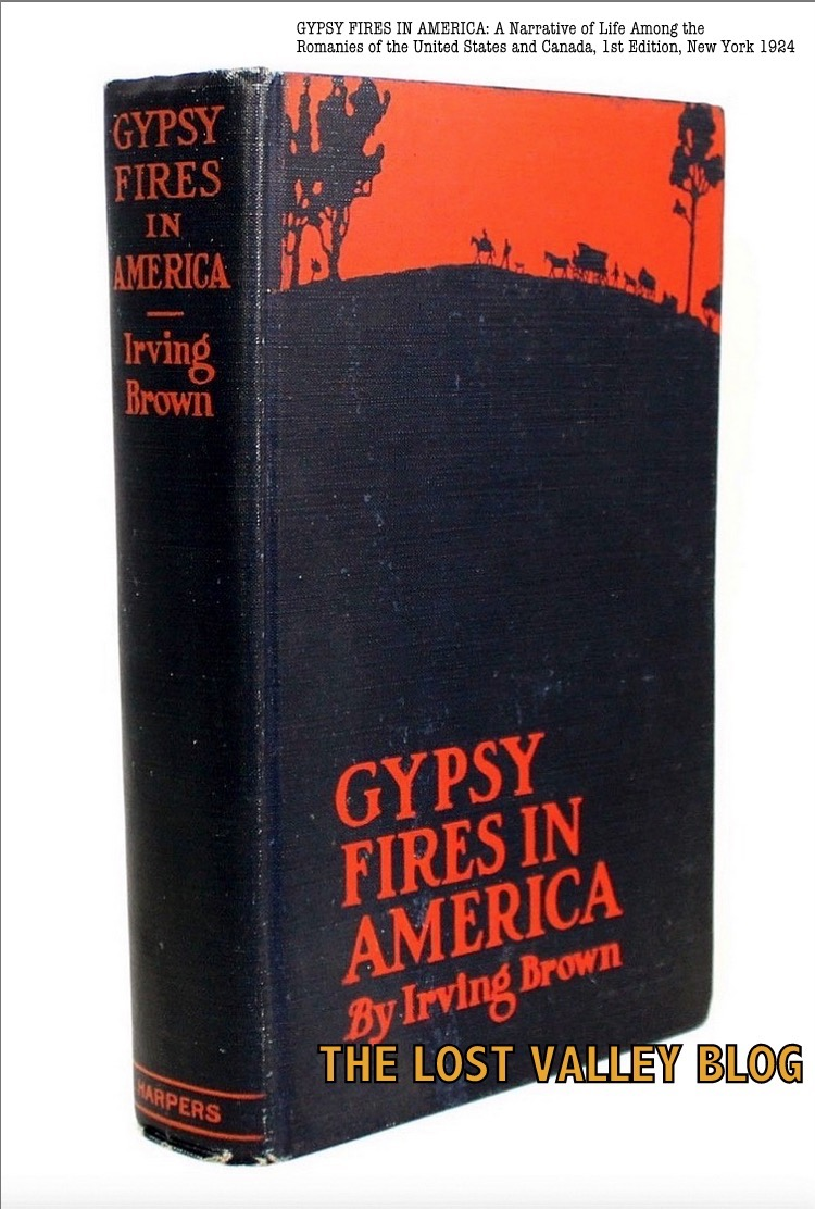 gypsy fires in america by irving brown harper brothers new york 1924