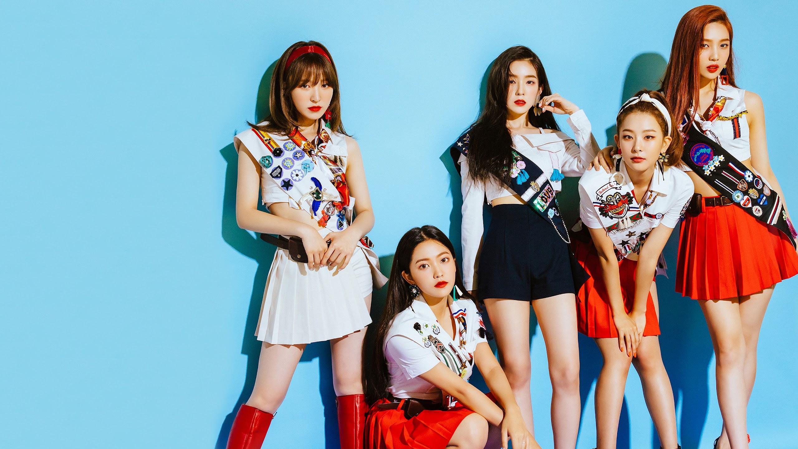 Red Velvet Desktop Wallpaper 2019