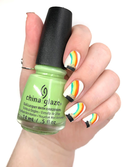 Pot of Gold Nail Art - 25 Sweetpeas