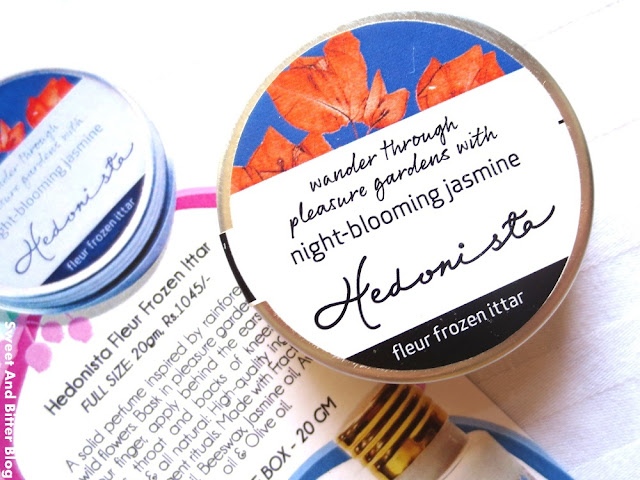 Hedonista Night Blooming Jasmine Solid Perfume
