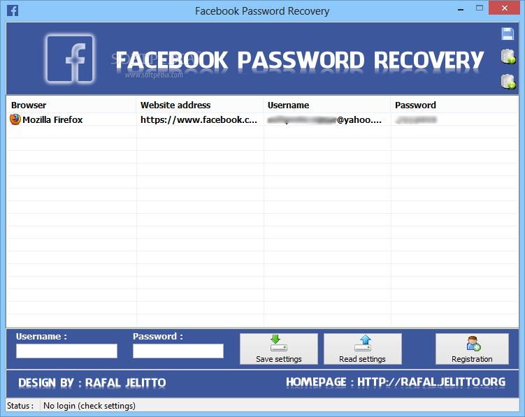 Download Facebook Password Decryptor Portable
