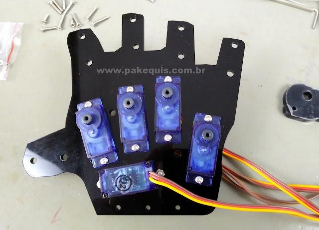 Arduino robotic hand kit