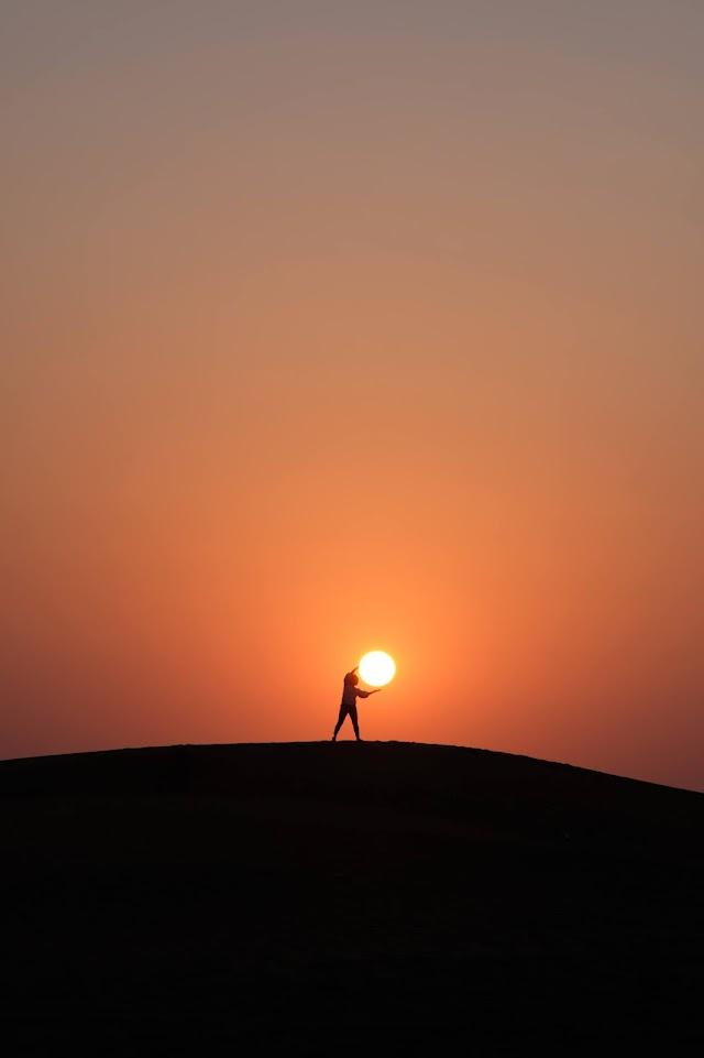The Golden Eye: Short Poems About Sun