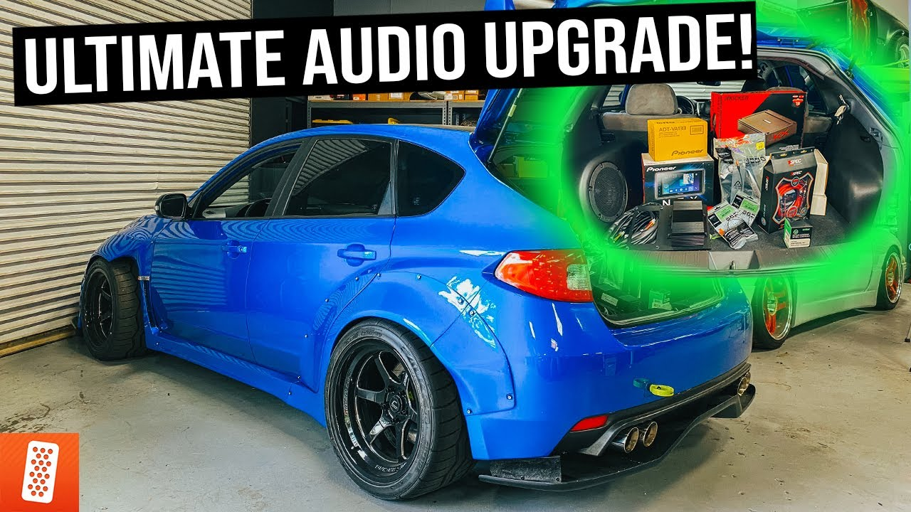 Throtl Media And Content Ultimate Subaru Wrx Sti Audio Upgrade    600hp Bmw E36 M3 Lambo Killer