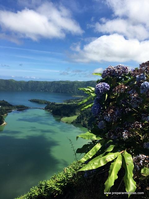 lagoa azul y lagoa verde sete cidades
