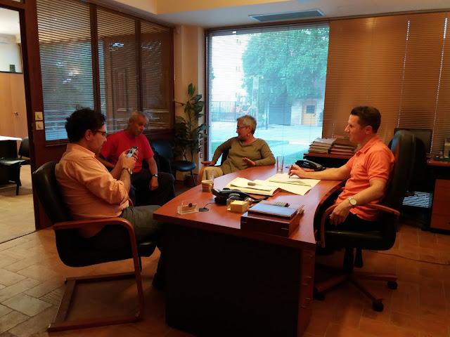 Συνάντηση Γραμματικόπουλου με την Πρωτοβουλία Πολιτών για το τραίνο