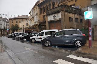 Zona de parking en Zaragoza