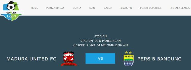Persib dan Madura United Kompak Tak Mau Jadi Korban Diundurnya Persija vs Persib